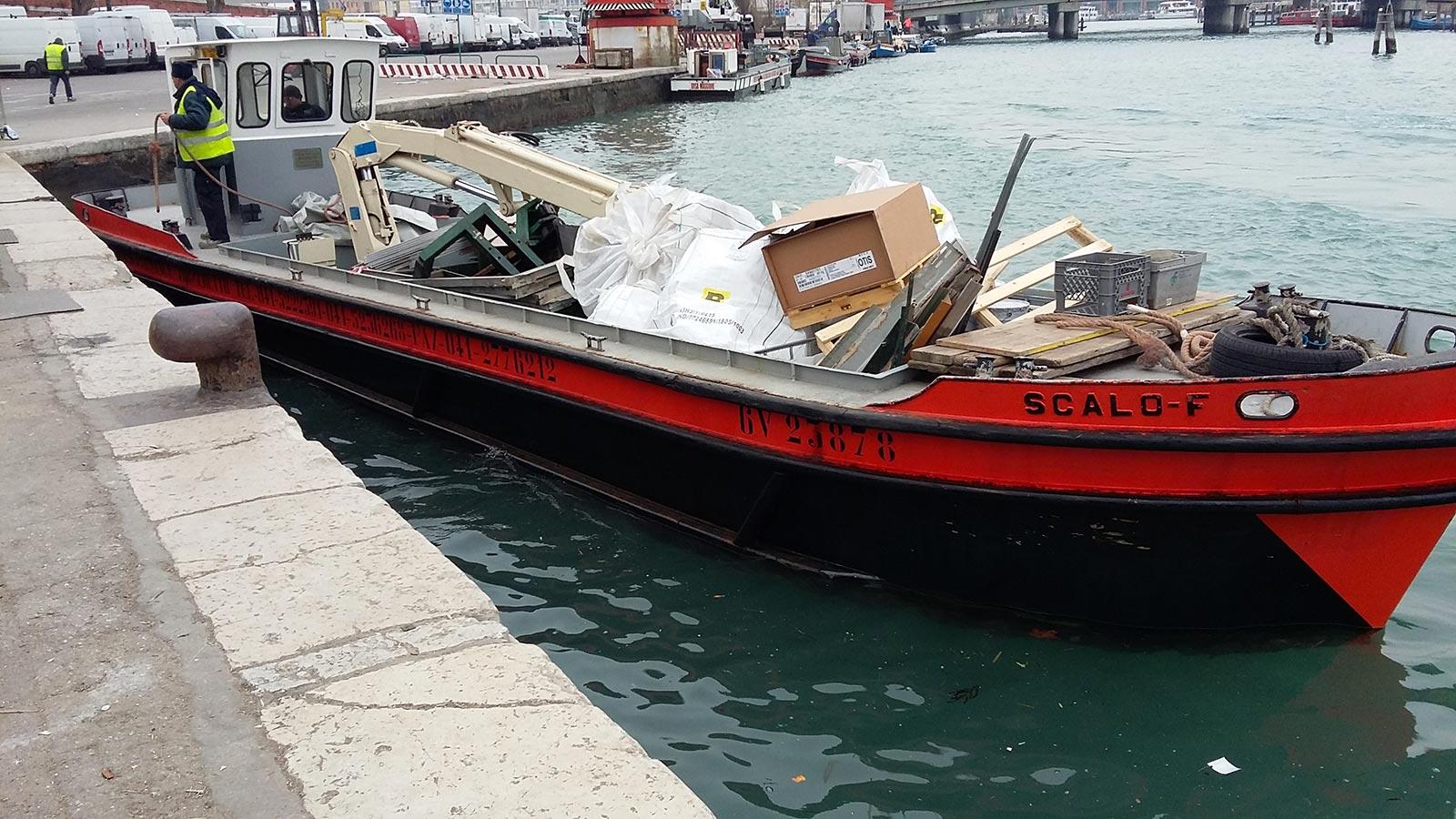 Trasporto e smaltimento rifiuti misti a Venezia