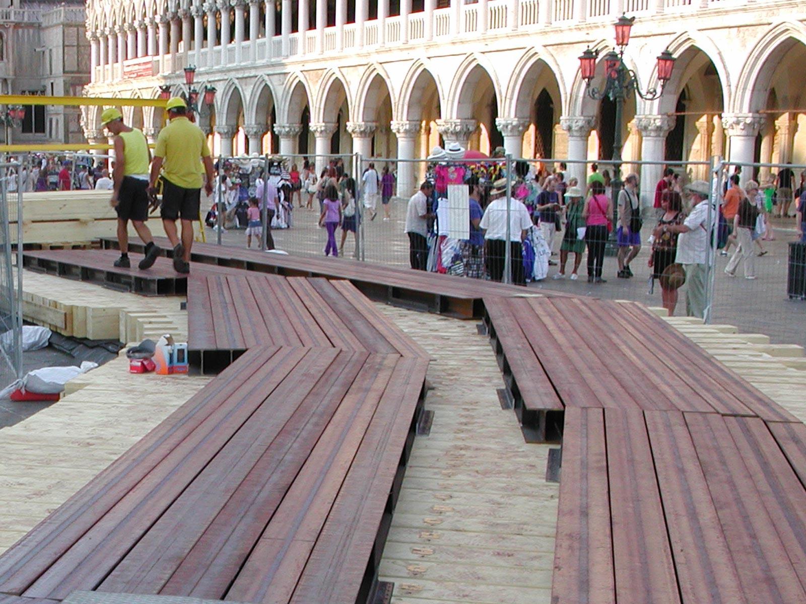 Consolidamento fondazioni campanile San Marco