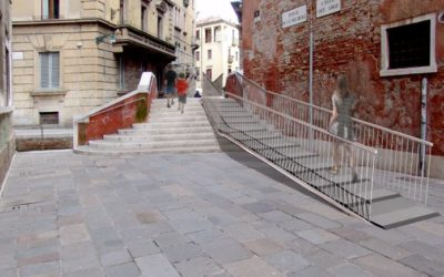 Trasporto rampa per disabili a Venezia
