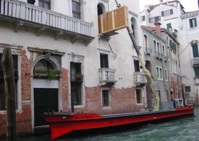 movimentazione palazzo Bollani