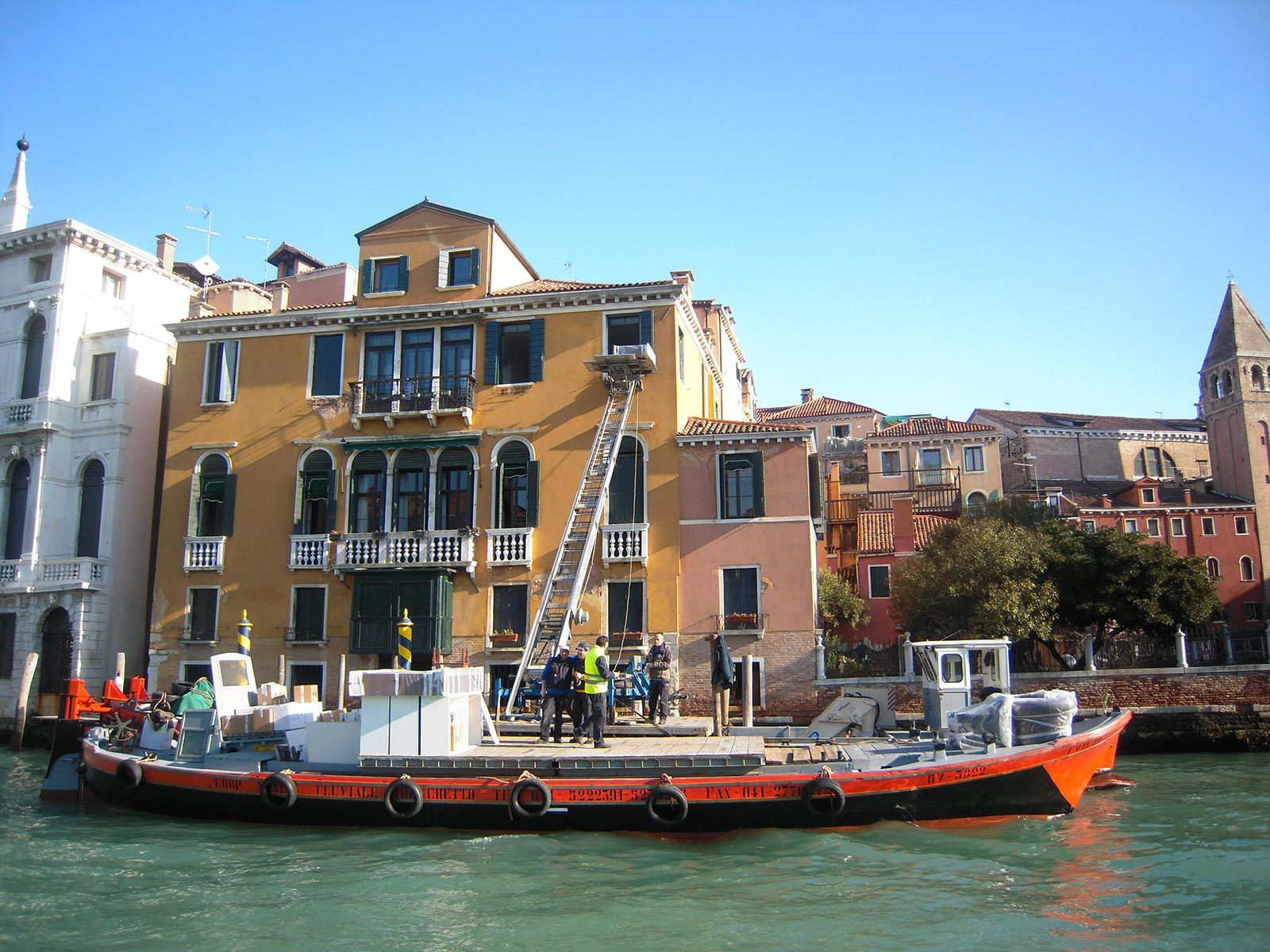 Relocations in the Venice city centre