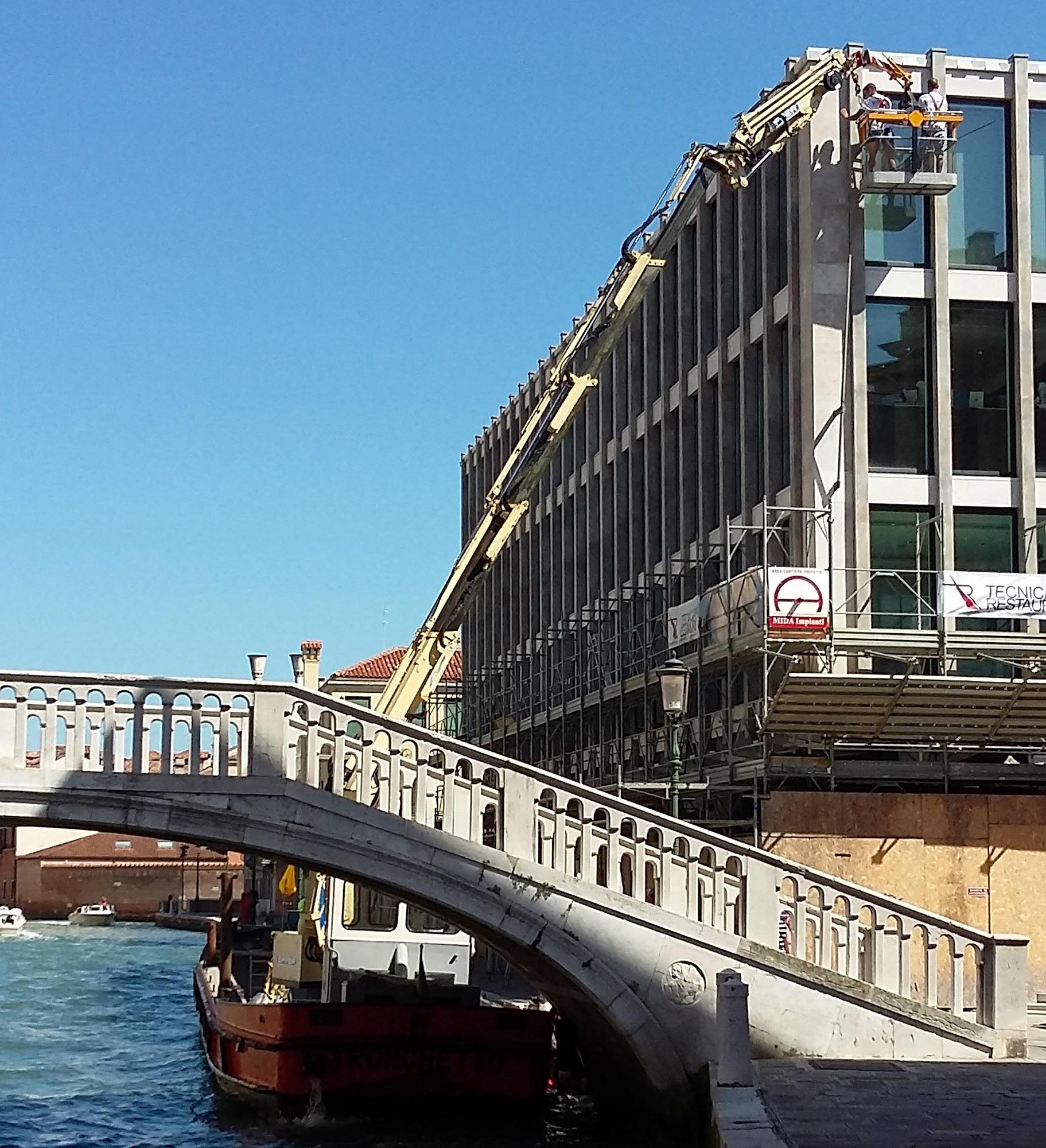 Installazione Argos comune Venezia