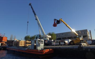 Acquistate due nuove AUTOGRU per efficientamento banchina Tronchetto