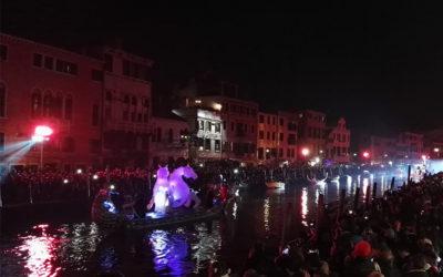 CARNEVALE di Venezia 2018: trasporto materiali e allestimenti