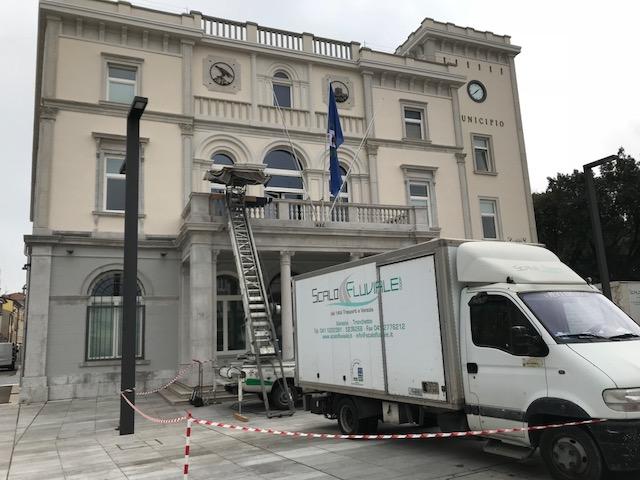 Trasloco per il comune di Monfalcone (Friuli Venezia Giulia)