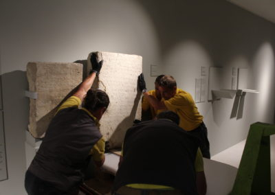 Trasporto Opere Museo Ebraico